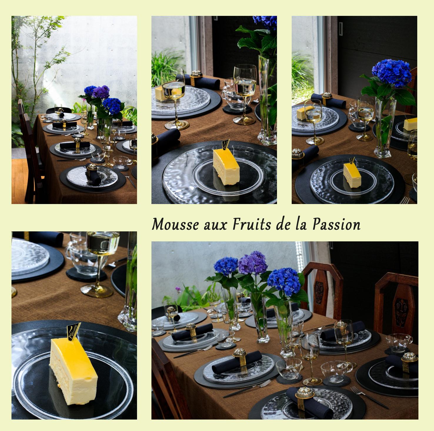 パッションフルーツのムース